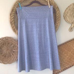 Lularoe Azure Lavender Skirt Xl
